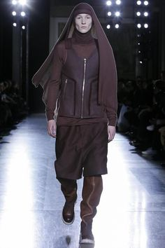 Visions of the Future: Rick Owens Menswear Fall Winter 2014 Paris - NOWFASHION