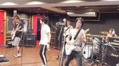 S.Q.F in studio #michi #SQF #Maschera #Jrock #Jpop