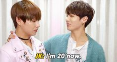 I swear you're still 19 and ah ha Vkook rises again
