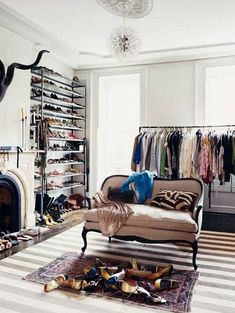 With Love From Kat: Interior Design,    Perfect room made in to a closet!