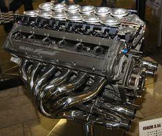 Isuzu 3.5-litre Formula 1 V12 engine