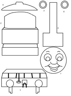 Perseverance:  Thomas and Friends: Thomas the Tank Engine Paper Craft