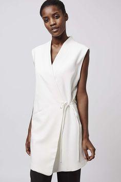 Photo 3 of Wrap Sleeveless Jacket