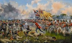 The charge of the 28th (North Gloucestershire) Regiment against the 2nd Battalion, 54th Ligne   David Rowlands.