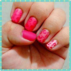#NailArt #NailPolish #adictasalosesmaltes #Nails #Pink