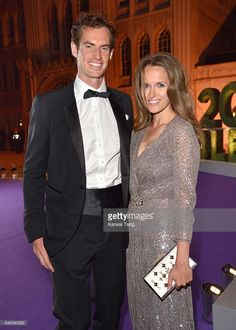 7/10/16 The Championships Winner Ball: Handsome couple: 2-Time Champion of Wimbledon & World #2 Andy Murray and his wife Kim Murray. #ChampionsDinner