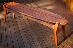 Outdoor bench (...to build)
