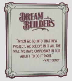 Dream Builders  Words To Live By    Life Lessons