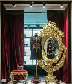 "DOLCE&GABBANA, Milan, Italy, ""A friend's eye is a good mirror"", pinned by Ton van der Veer"