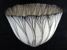 Vessel, Black and White Petal Sequence by Cheryl Malone by tjcervants