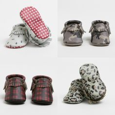 Top baby gifts of the year: Freshly Picked original leather moccasins in amazing new styles for kids + babies
