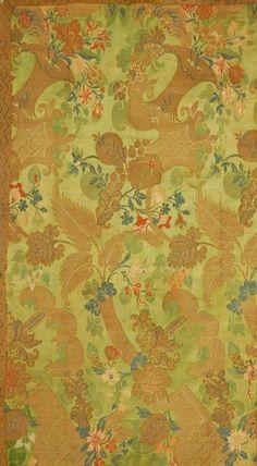Bizarre Silk Panel, 17-18th century