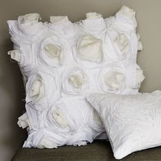 I own 4 of these-- they add the perfect amount of feminity and texture to both my bed and couch.