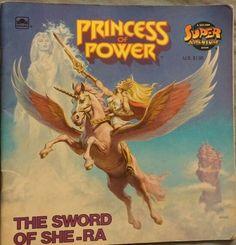 She-Ra: Princess of Power Power Colors, Cartoon Toys, She Ra Princess Of Power, Best Comments, Little Golden Books, Retelling, Book Club Books, Female Characters, Sword