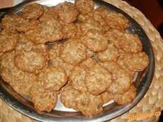 marokánky nej nej Crinkles, Food And Drink, Homemade, Cookies, Meat, Chicken, Ethnic Recipes, Desserts, Ds