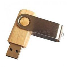 Pen drive ecológico personalizado www.brindice.com.br/brindes/pen-drive-ecologico