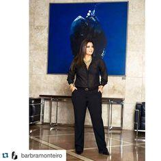 #Repost @barbramonteiro with @repostapp. ・・・ #babimonteiro #positivebody #plussize #brasil #curverock #Plus #curvywomen #elegante#modagg #tallasgrandes #palank