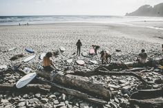 Burton's Pacific Northwest Trifecta 2015 | Who the hell do all these soft-tops belong to? Surf preparations.