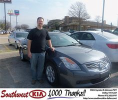 Congratulations to Robby Stibbens on the 2008 #Nissan #Altima #NewCar