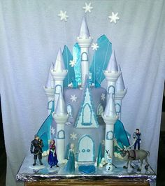 Disney Frozen cake I made for my daughter