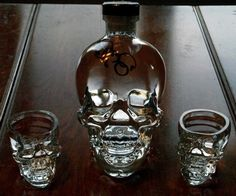 Crystal Head Vodka  Autographed from the maker himself.  Dan Aykroyd     #chvdeadday