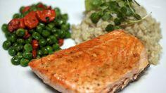 Smoky Maple-Glazed Salmon Supper