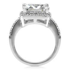 13 Carat Princess Cut Engagement Ring Price 9