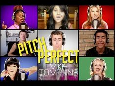 """and while i'm on a """"pitch perfect"""" kick (i may or may not have a weee little crush on anna kendrick), here's mike tompkins + cast + internet with a super fun cover of """"starships."""""""