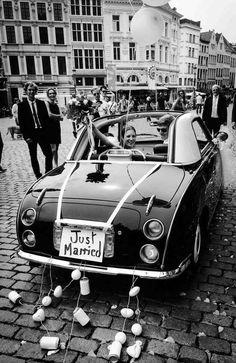 comment créer décoration voiture mariage digne originale idées astuces