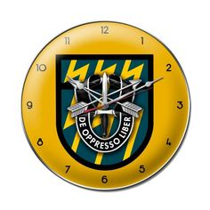 12th Special Forces Group Clock