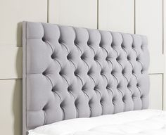 Chesterfield #UpholsteredHeadboard. Inspired by the legendary Chesterfield sofa design generated through a deep-padded finish. (www.sueno.co.uk/chesterfield-upholstered-headboard) #headboards #Bed