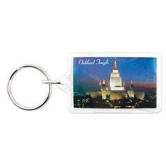 Oakland California Temple Key Ring