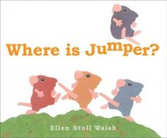 Tuesday, November 24, 2015. Jumper is missing, and his mouse friends look for him inside the cave and outside, up among the branches and down into mole's tunnel, but still they cannot find him.