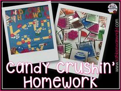 This is a blog post about a homework system that is perfect for getting your students excited about completing their assignments! http://kathleenwainwright.com/classroomphotographs/candy-crushin-homework-a-homework-system-that-works/