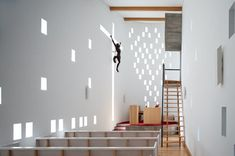 Sanctuary. Chapel of Saint Anne. Santa Maria da Feira, Portugal. Architect: e/348 Arquitectura.