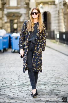 long coats and flats a perfect spring look | Stephanie Gundelach | London