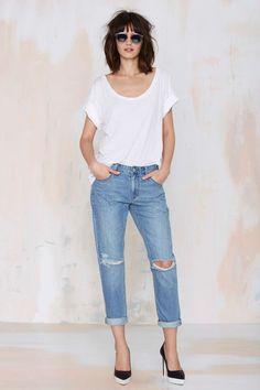RES Denim Romeo Boyfriend Jean | Shop What's New at Nasty Gal