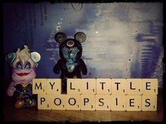 Ursula - My poor little poopsies  Disney Vinylmation