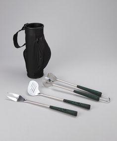 Grill Utensils & Golf Bag Set #zulily #zulilyfinds