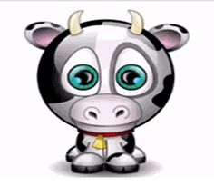 Funny Cow Animated Gifs - Best Animations