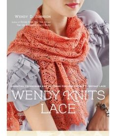 Lace Stripe Scarf from Wendy Knits Lace by Wendy D. Johnson