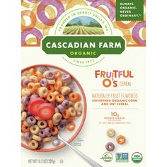 Organic Cereal, Organic Snacks, Organic Fruit, Fruit Cereal, Granola Cereal, Elderberry Juice, On The Go Snacks, Breakfast Cereal, Afternoon Snacks