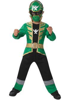 Green Super Megaforce Power Rangers Costume for Children - General Kids Costumes at Escapade™ UK - Escapade Fancy Dress on Twitter: @Escapade_UK