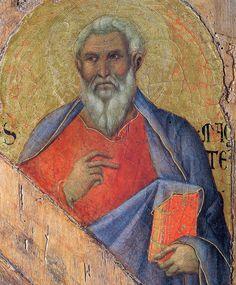 The Apostle Matthew - Duccio