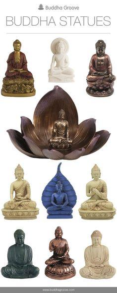 Buddha Statues by Buddha Groove #MeditationIsTheKey
