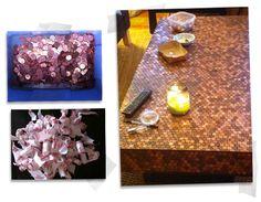 DIY - A Penny Coffee Table