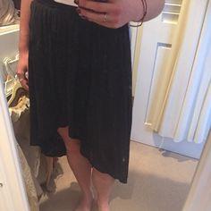 high-low black skirt American eagle brand American Eagle Outfitters Skirts High Low