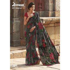 Laxmipati Marvelous Georgette Saree Georgette Sarees, Lehenga Choli, Kurti, Indian Clothes Online, Wedding Wear, Indian Sarees, Sarees Online, Indian Outfits, Special Occasion