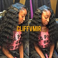 18 Yr Old Prodigy Stylist @cliffvmir Her leave out was...Instagram photo | Websta (Webstagram)
