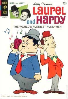 Laurel and Hardy #1/ Gold Key Comics (1966)